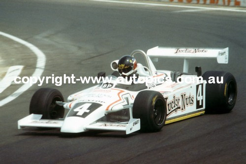 John Bowe  -  Ralt RT4 - Calder Park AGP 1981