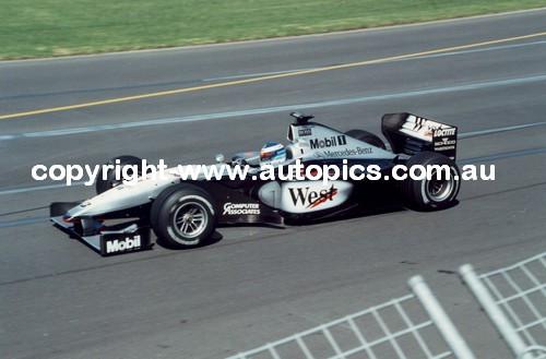 Mika Hakkinen  -  McLaren - Melbourne AGP 1999