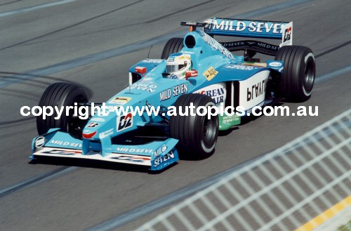 Giancarlo Fisichella  -  Benetton - Melbourne AGP 1999