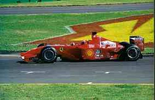 Michael Schumacher  -  Ferrari - Australian Grand Prix 2001