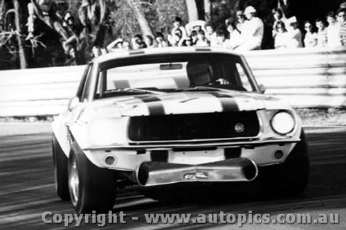 70006  -  Ian  Pete  Geoghegan  -  Mustang - Sideways in the esses - Warwick Farm 1970 - Photographer David Blanch