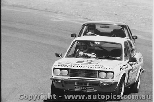 81001  -  Rod Barrett  -  Fiat 128 - Amaroo 1981