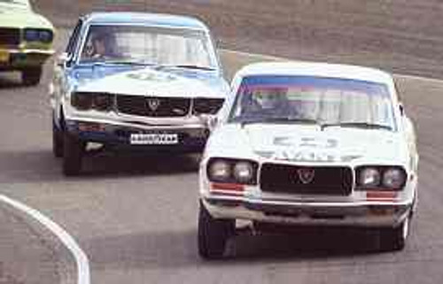 83001  -  Rod Barrett  -  Mazda RX3 - Amaroo 1983