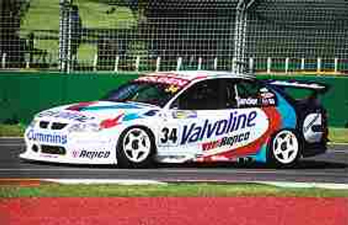 201210  -  Garth Tander - Holden - Melbourne Grand Prix 2001