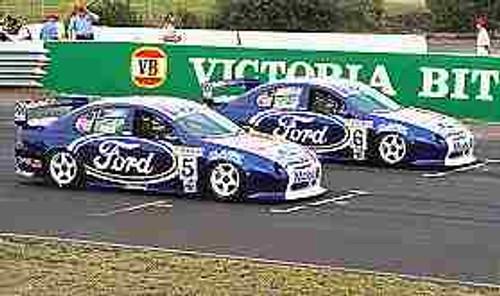 201218  Seton & Richards - Ford - Melbourne Grand Prix 2001