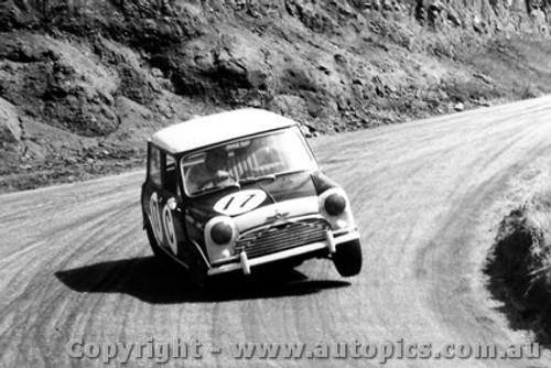 66703  -  Stanley / Gibson  -  Bathurst 1966 - 2nd Outright  - Morris Cooper S