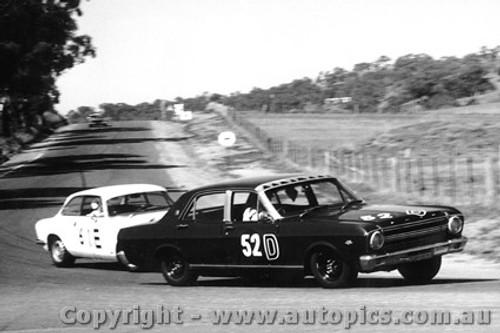 67701  -  Firth / Gibson  -  Bathurst 1967 - 1st Outright & Class D winner - Ford Falcon XR GT