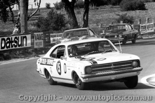 68703  -  TONY ROBERTS / BOB WATSON  -  Bathurst 1968 - 3rd Outright - Holden Monaro GTS 327