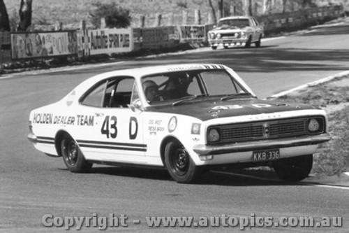 69704  -  D West / P Brock  -  Bathurst 1969 -3rd Outright - Holden Monaro GTS 350