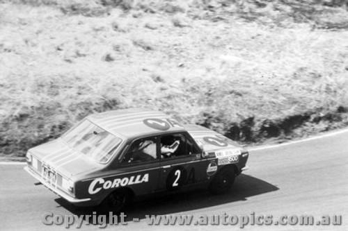 69707  -  Sampson / Morris  -  Bathurst 1969 - Class A  Winner - Toyota Corolla 1100
