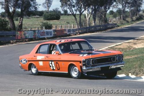 69713  -  Geoghegan / Geoghegan  -   Ford Falcon GTHO - Bathurst 1969