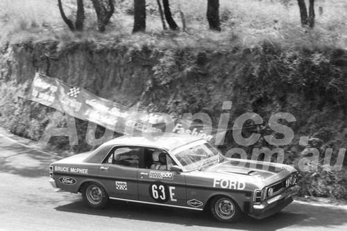 70704  -  B. McPhee  -  Bathurst 1970 -2nd Outright - Ford Falcon GTHO