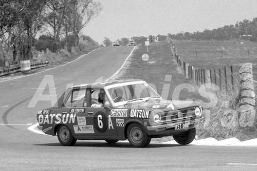 70706  -  W.Tapsall / J. Leighton  -  Bathurst 1970 - Class A  winner - Datsun 1200