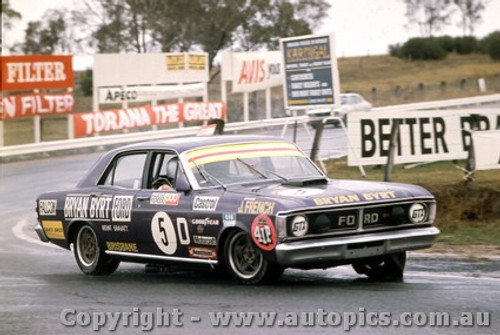72710  -  J. French  -  Bathurst 1972 - 2nd Outright & Class D winner - Ford Falcon GTHO Phase 3