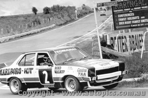 75705  -  C.Bond / J. Walker  -  Bathurst 1975  3rd Outright  Torana L34 SLR5000