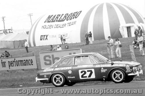 75707  -  M. Beaumont / J. Leffler  -  Bathurst 1975  Class B Winner Alfa Romeo GTV
