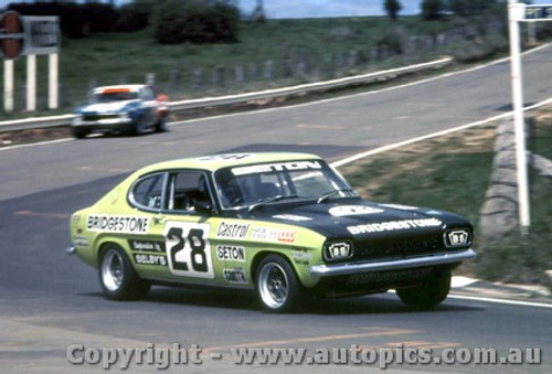 75719  -  B. Seton / D. Smith  -  Bathurst 1975   Ford Capri