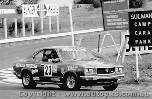 76713  -  D. Holland / L. Brown  -  Bathurst 1976    Class C  2nd Place   Mazda RX3