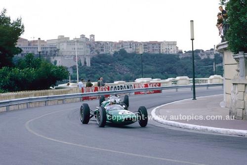 62566 -  Jack Brabham, Lotus 24 Climax - Monarco Grand Prix 1962