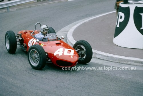 62569 - Willy Mairesse, Ferrari 156 - Monarco Grand Prix 1962