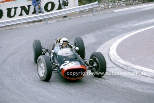 62575 -  John Surtees, Lola Climax - Monarco Grand Prix 1962