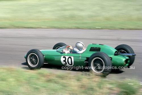 62577 - Jack Brabham, Lotus 24 Climax, British Grand Prix, Aintree 1962