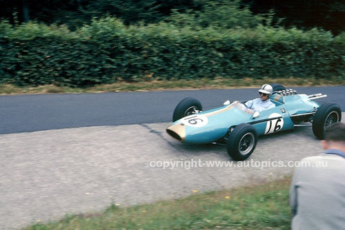 62590 - Jack Brabham, BT3 German Grand Prix,  Nurburgring 1962