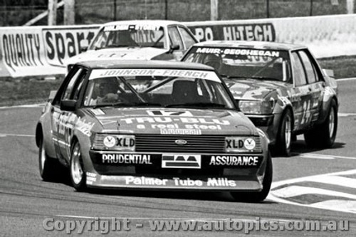 81701  -  Johnson / French  -  Bathurst 1981  1st Outright  Ford Falcon XD