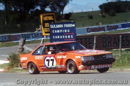 81705  -  P. Willimson / J. Smith    Bathurst 1981  Class C Winner  Toyota Celica