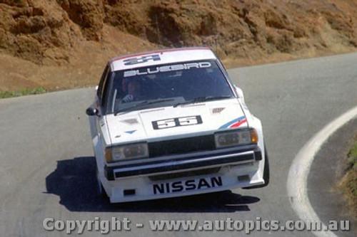 82709  -  G. Fury    Bathurst 1982 Nissan Bluebird Turbo