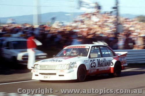 83704  -  P.Brock / L. Perkins   Bathurst 1983  1st Outright  Commodore VH  The car they finished in.