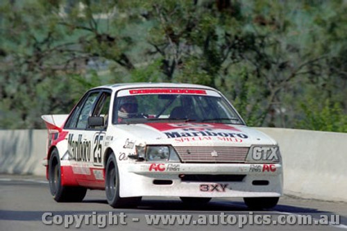 83707  -  P. Brock / J. Harvey / L.Perkins   Bathurst 1983  1st Outright  Commodore VH  The car they  finished in.