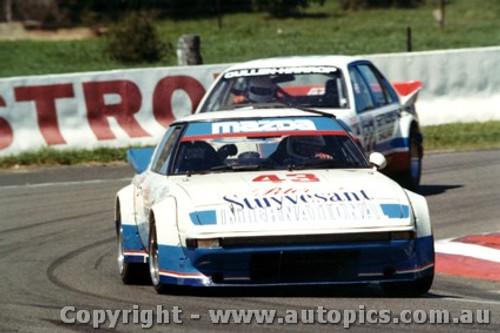 83708  -  A. Moffat / K. Katayama   Bathurst 1983  2nd Outright  Mazda RX7