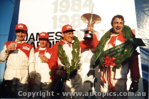 84701  -  Brock / Perkins / Harvey / Parsons   Bathurst 1984  Outright 1st and 2nd