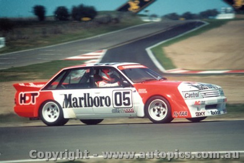 84702  -  Brock / Perkins    Bathurst 1984  1st Outright Winner  Holden Commodore VK