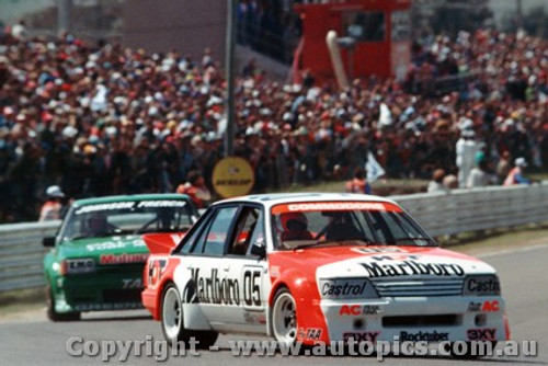 84706  -  Brock / Perkins    Bathurst 1984  1st Outright Winner  Holden Commodore VK