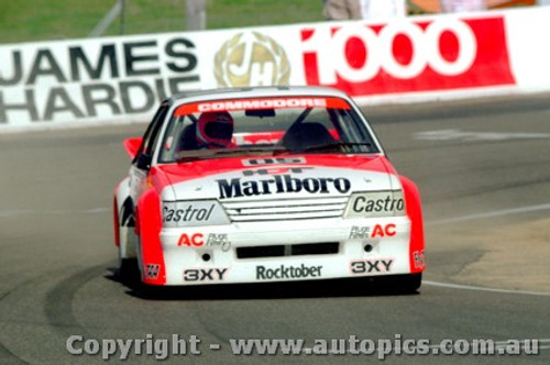 84707  -  Brock / Perkins     Bathurst 1984  1st Outright Winner  Holden Commodore VK