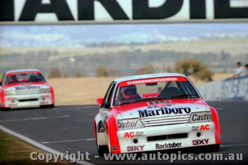84708  -  Brock / Perkins     Bathurst 1984  1st Outright Winner  Holden Commodore VK