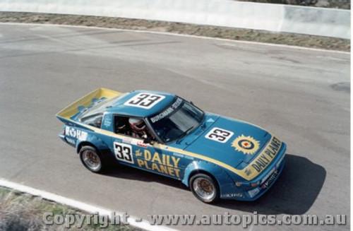 84712  -  Burgmann / Stevens    Bathurst 1984  Mazda RX7