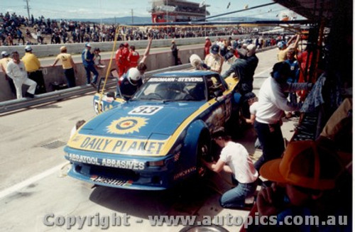 84713  -  Burgmann / Stevens    Bathurst 1984  Mazda RX7