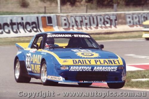 84714  -  Burgmann / Stevens    Bathurst 1984  Mazda RX7