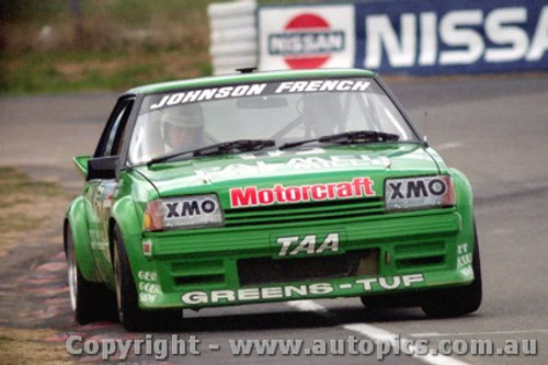 84716  -  D. Johnson / J. French    Bathurst 1984 Ford Falcon XE