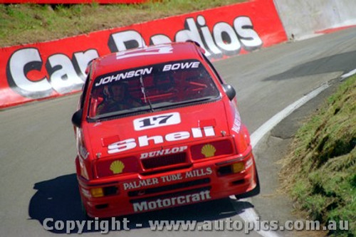 89701  -  D. Johnson / J. Bowe    Bathurst 1989  1st Outright   Ford Sierra RS500