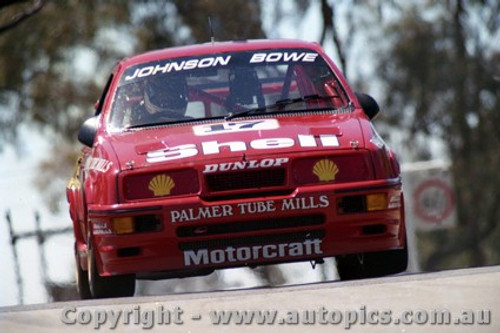 89703  -  D. Johnson / J. Bowe    Bathurst 1989 -1st Outright   Ford Sierra RS500.
