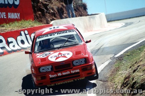 89707  -  K. Mathews / G. Rogers    Bathurst 1989  Ford Sierra RS500