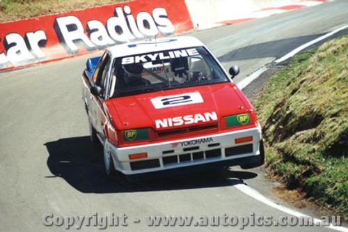 89712  -  J. Richards / M. Skaife    Bathurst 1989  3rd Outright  Nissan Skyline