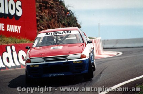 91703  -  Gibbs / Onslow -  Bathurst 1991  Nissan GTR