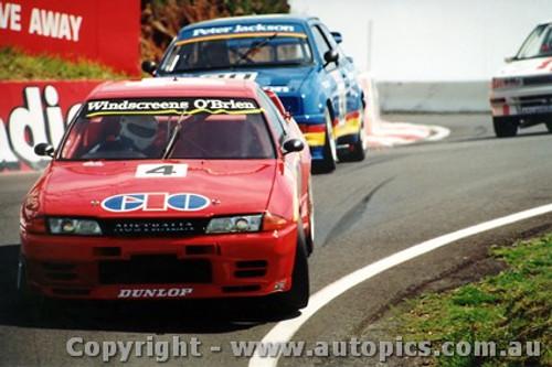91704  -  M. Gibbs / R. Onslow    Bathurst 1991  3rd Outright  Nissan GTR
