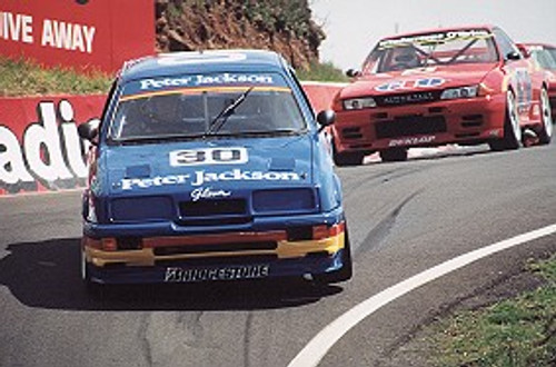 91706  -  G. Seton / G. Hansford    Bathurst 1991  Ford Sierra RS500