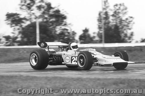 71606  -  Chris Amon  STP Lotus 70 Ford Boss   Tasman Series 1971  Warwick Farm